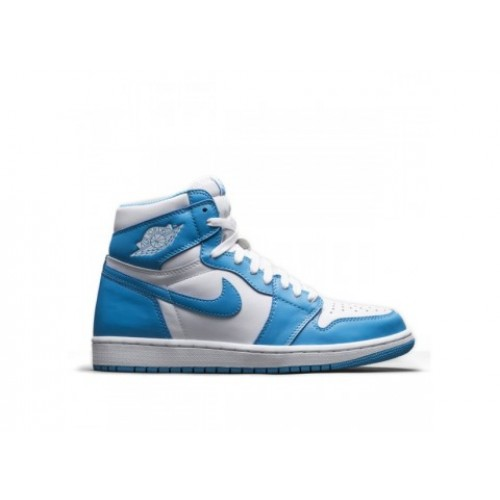 555088-117 Air Jordan 1 Retro High OG White/Dark Powder Blue