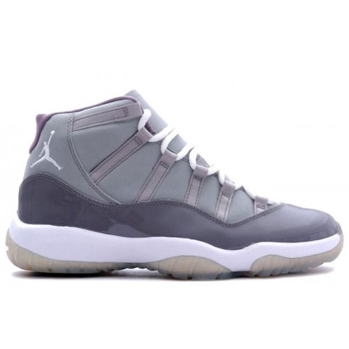 Authentic 378037-001 Air Jordan Retro 11 (XI) Cool Grey Medium Grey White Cool Grey