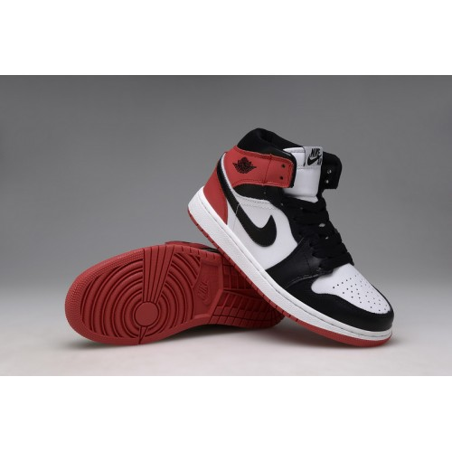 Air Jordan 1 Retro High OG White Black-Varsity Red (Men Women GS Girls 0c3499c8ee