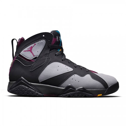 Authentic 304775-034 Air Jordan 7 Retro Black/Bordeaux-Light Graphite-Midnight Fog
