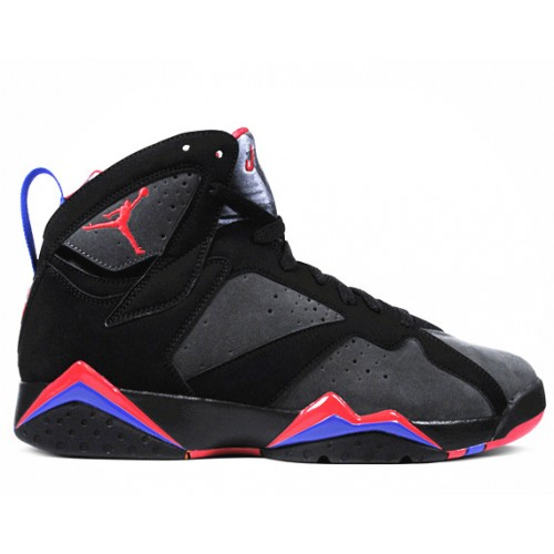 304775-043 Air Jordan 7 Retro Defining Moments Black Charcoal Team Red A07005