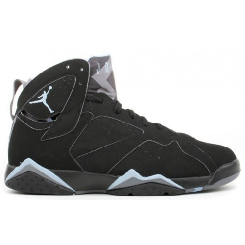 304775-042 Air Jordan 7 (VII) Retro Black Chambray Light Graphite A07004
