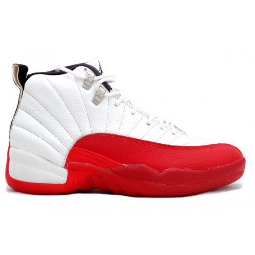 130690-161 Air Jordan Cherry 12 (XII) Original (OG) White Cherry Red A12004