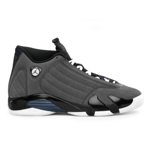 Air Jordan 14 (XIV) Retro Stealth Graphite Grey Black White A14007