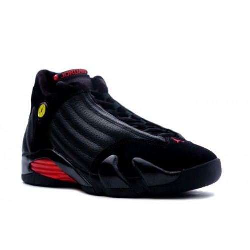 311832-002 Air Jordan Retro 14 Last Shot Black Varsity Red A14001