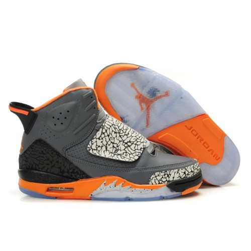 Air Jordan Son Of Mars Mens Shoes Grey Orange A22005