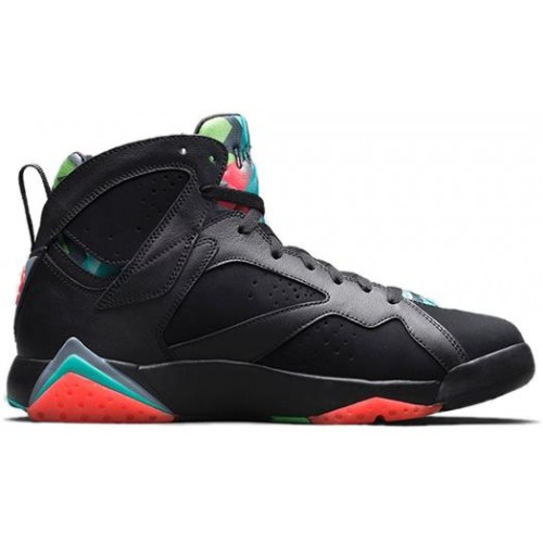 Authentic 705350-007 Air Jordan 7 Retro Black/Blue Graphite-Retro-Infrared 23(Men Women GS Girls)