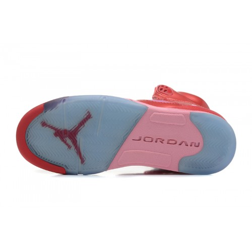 440892-605 Air Jordan 5 Gym RedIon Pink Women