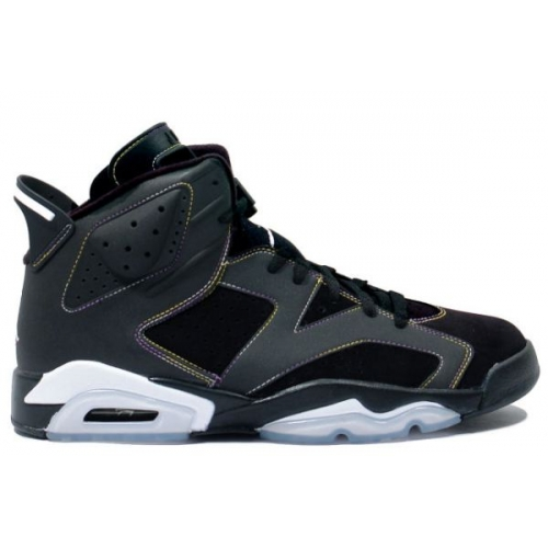 384665-002 Air Jordan 6 retro (gs) lakers blk vrsty prpl white vrsty mz A24020